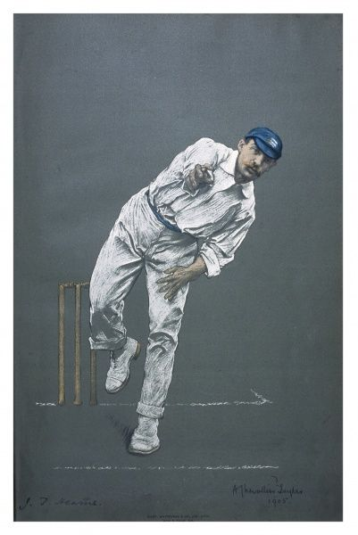 John Thomas Hearne - cricketer for Middlesex and England