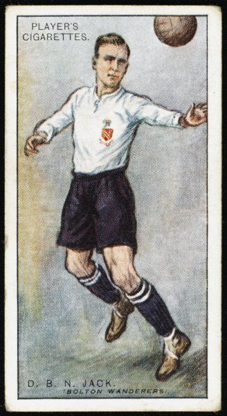 David Jack, player for Bolton Wanderers
