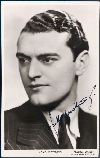 JACK HAWKINS British leading man and character actor