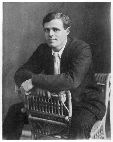 JACK LONDON American writer, in 1903