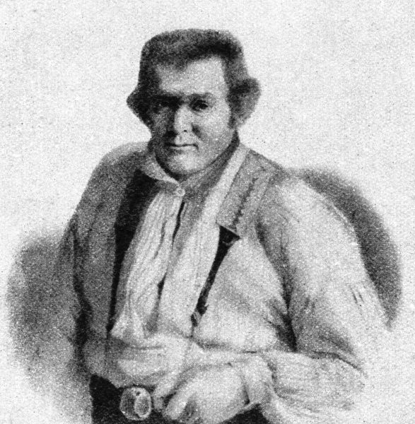 Jack or John Rattenbury (1778 - 1844), nicknamed the Rob Roy of the West. Born in Beer, Devonshire, Rattenbury was in turn privateer, fisherman, pressed sailor in the Navy, and smuggler. He is credited with writing The Memoirs of a Smuggler