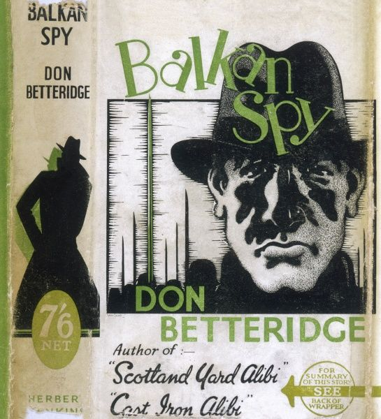 'BALKAN SPY' By Don Betteridge