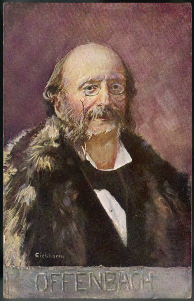 JACQUES OFFENBACH French musician