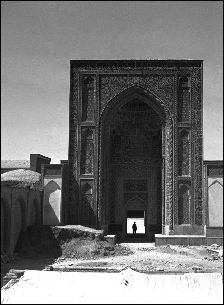 Jameh Mosque - Kerman, Iran - built in 1349 and extensively modernised during the Safavid period and later