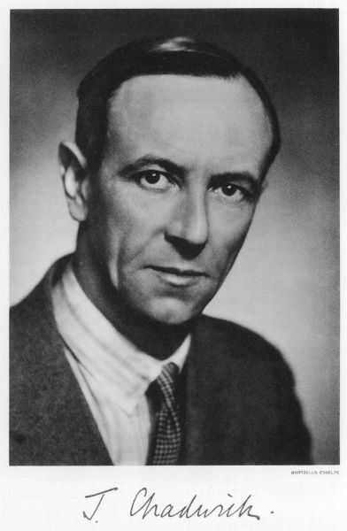 sir JAMES CHADWICK physicist