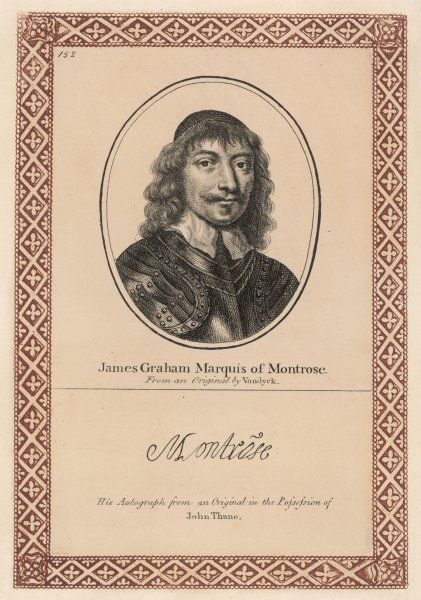 James Graham 1st Marquis of Montrose (1612-1650), royalist military