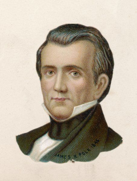 JAMES POLK 11th President of the United States, 1845-49