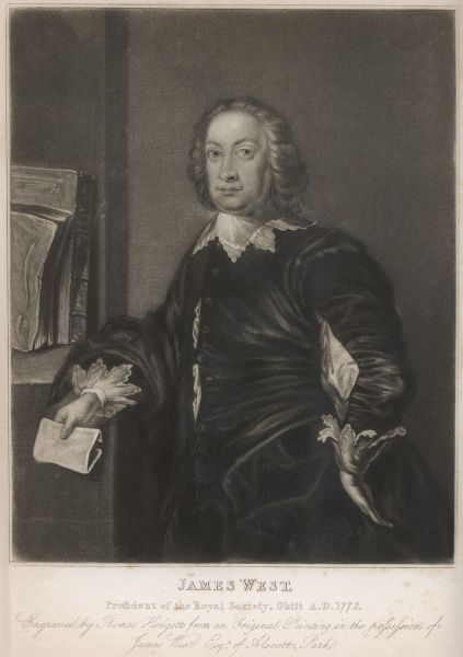 JAMES WEST politician and antiquary