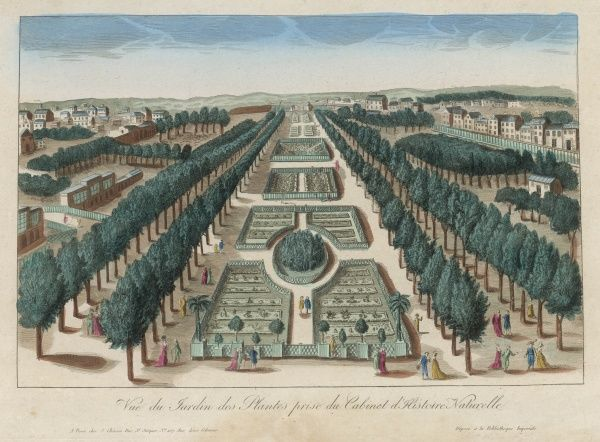 LE JARDIN DES PLANTES, Paris, was founded in 1626 as a botanical garden, but in the 18th century, under Buffon, expanded to become also a zoo