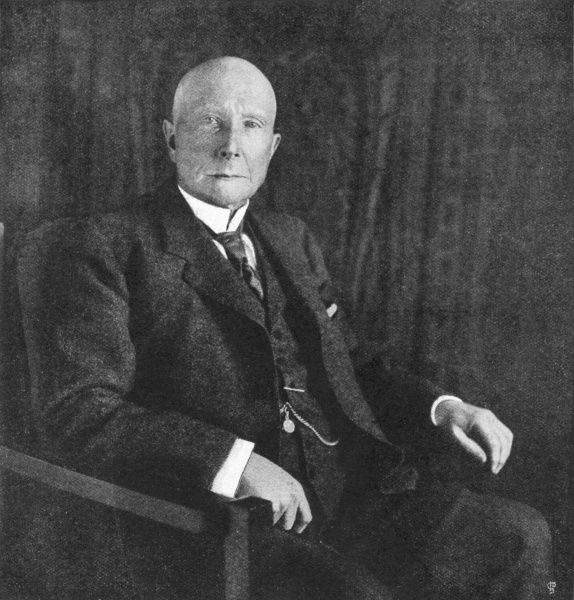 JOHN DAVISON ROCKEFELLER American industrialist and philanthropist in later life