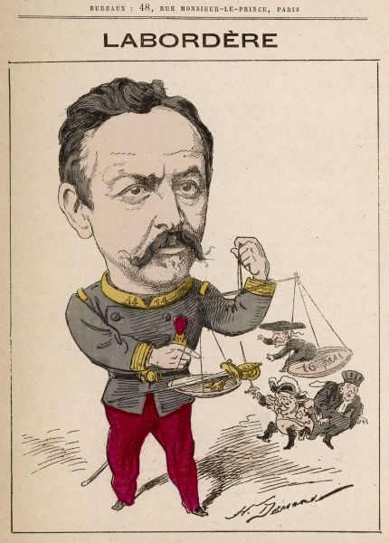 Jean Marie Arthur Labordre (born 1835) French Military man, politician, senator for the Seine (1882-1884)