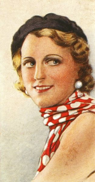 JEANNE DE CASALIS Actress and radio entertainer Date: mid-20th century