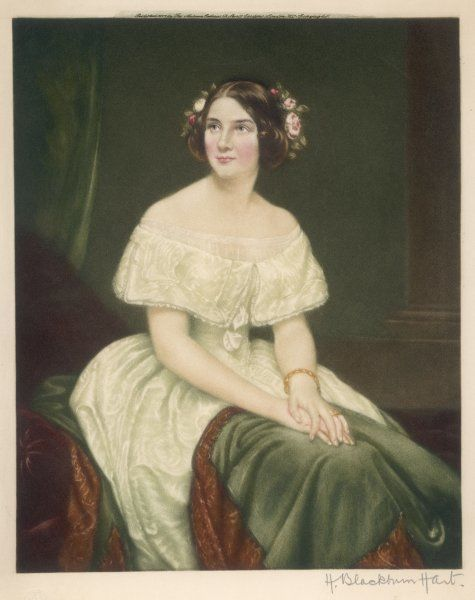 JENNY LIND Soprano singer, known as 'The Swedish Nightingale&#39