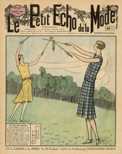 Two French players play 'le jeu de graces' which involves quoits and sticks