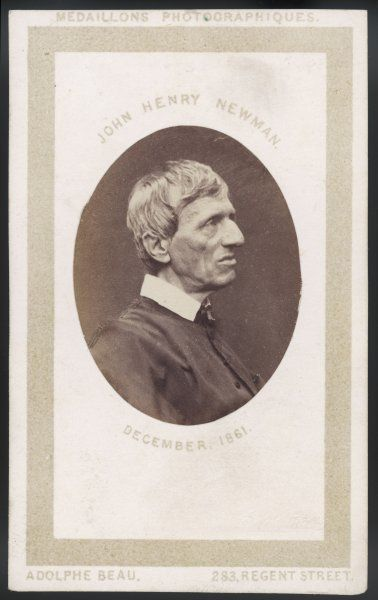 JOHN HENRY NEWMAN Catholic convert, subsequently a cardinal
