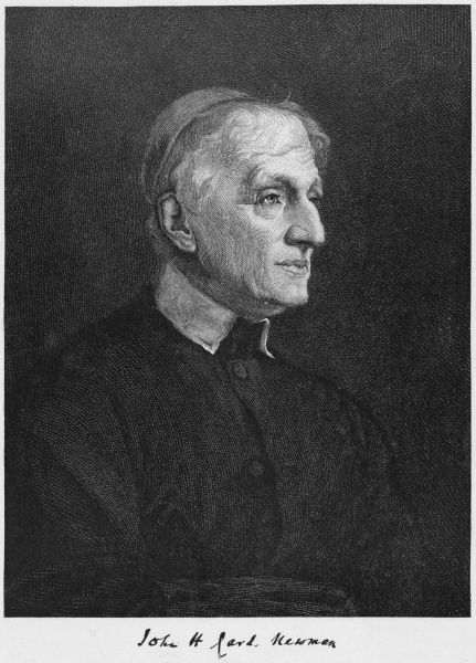 JOHN HENRY NEWMAN the Roman Catholic Cardinal in old age