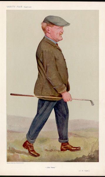 John Henry Taylor. British Open champion, member of the Great Triumvirate and founding member of the PGA