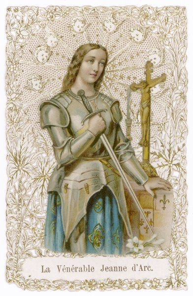JOAN OF ARC French heroine