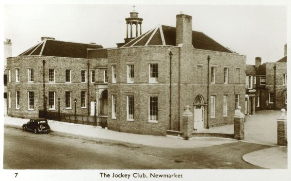 The Jockey Club, Newmarket Date: circa 1930s