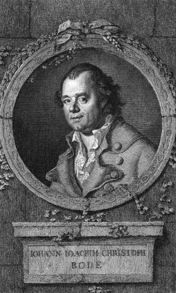 JOHANN JOACHIM CHRISTOPH BODE German musician, bookdealer and translator. Date: 1730 - 1793