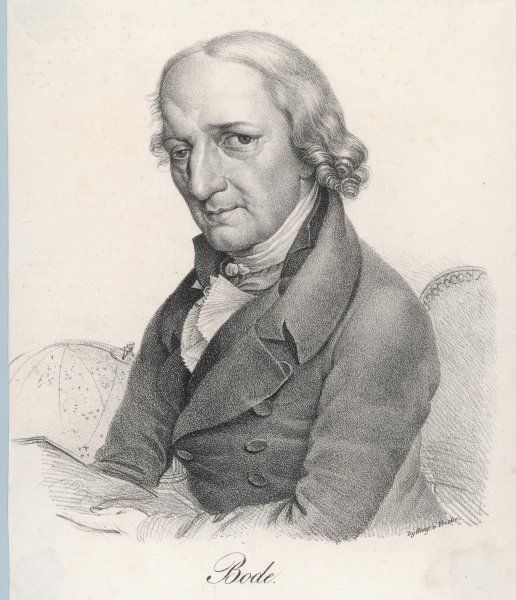 JOHANN ELERT BODE German astronomer Worked on relative distances between planets and the sun