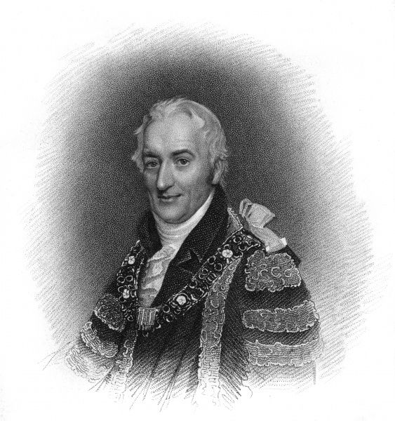 JOHN ATKINS Lord Mayor of London, 1819, in his robe of office. Date: CIRCA 181