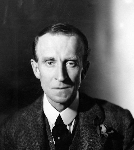 Photographic portrait of John Buchan, 1st Baron Tweedsmuir (1875-1940), the Scottish writer and statesman, date unknown