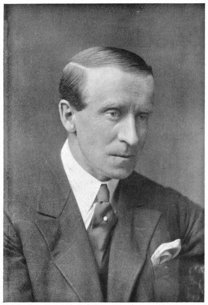 JOHN BUCHAN statesman and writer, author of 'The 39 steps' and other adventure stories