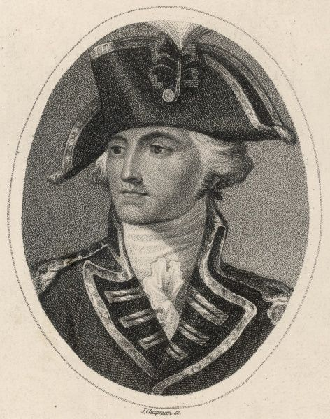 JOHN BURGOYNE Dramatist and army officer (he surrendered at Saratoga in 1777)