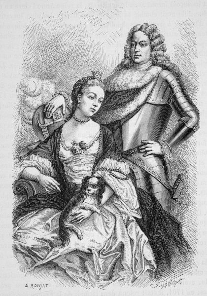 JOHN CHURCHILL (with wife Sarah) Commander in chief over the armies of England and Holland in the War of the Spanish Succession