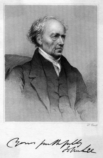 JOHN LEE Scientist and collector with his autograph Date: 1783 - 1866