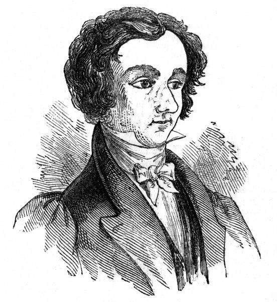 John Pyke Hullah (1812 -1884), English composer and teacher of music, pictured here in 1842. Date: 1842