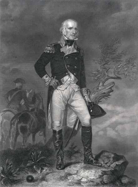 JOHN STARK Irish-born American Revolutionary general Date: 1728 - 1822