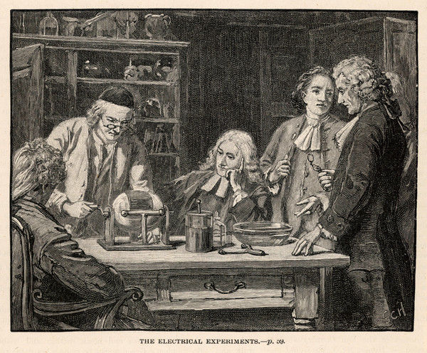 JOHN WESLEY English religious leader, founder of Methodism : always interested in science, he is depicted observing an electrical experiment