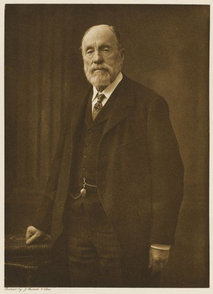 Sir JOHN WOLFE-BARRY civil engineer whose achievements included the Tower Bridge over the river Thames in London