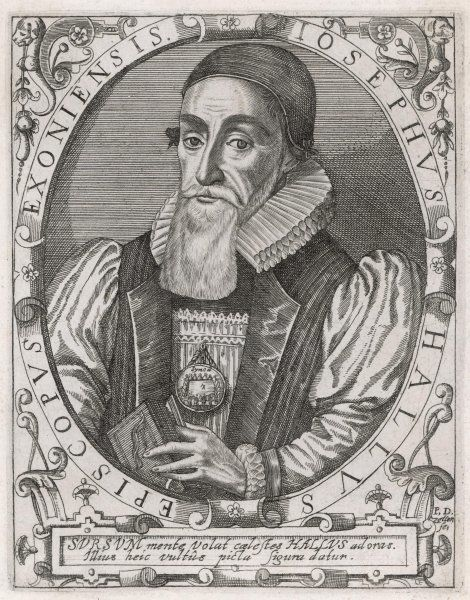 JOSEPH HALL controversial bishop of Norwich, and satirist