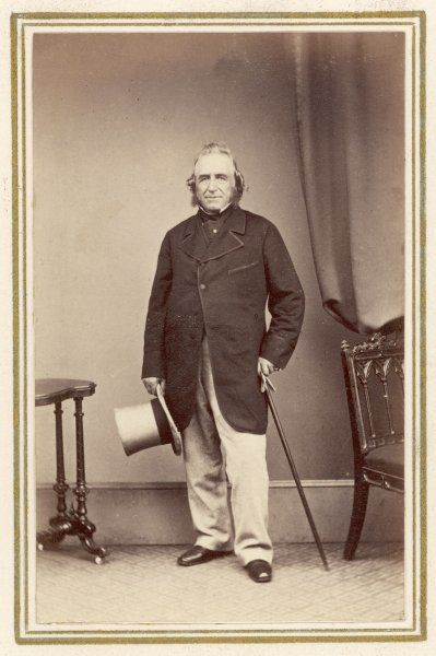 SIR JOSEPH PAXTON Architect and horticulturist, designer of the Crystal Palace for the Great Exhibition of 1851
