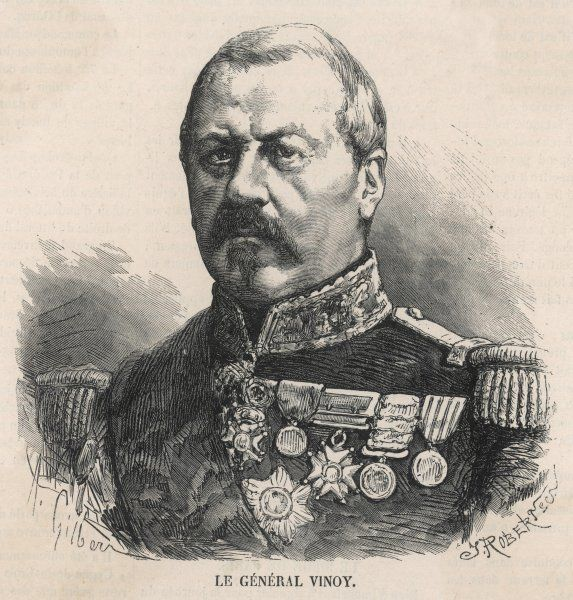 General JOSEPH VINOY French military commander, in 1870