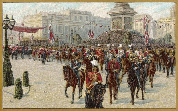 A Jubilee procession for Queen Victoria in London