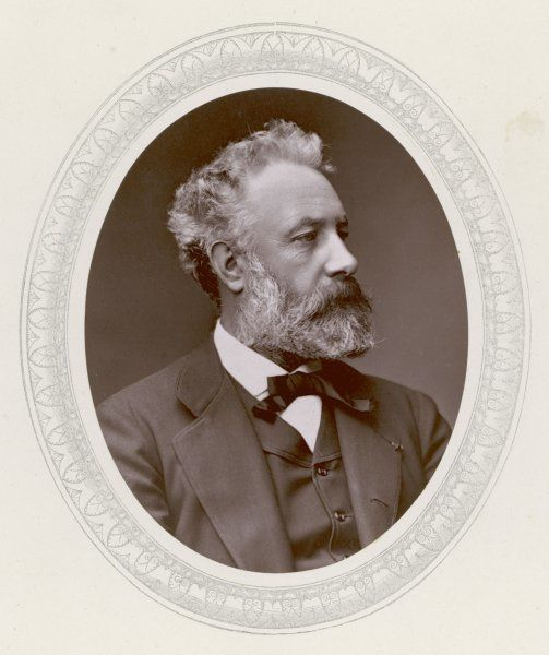 JULES VERNE French science fiction writer, in 1877