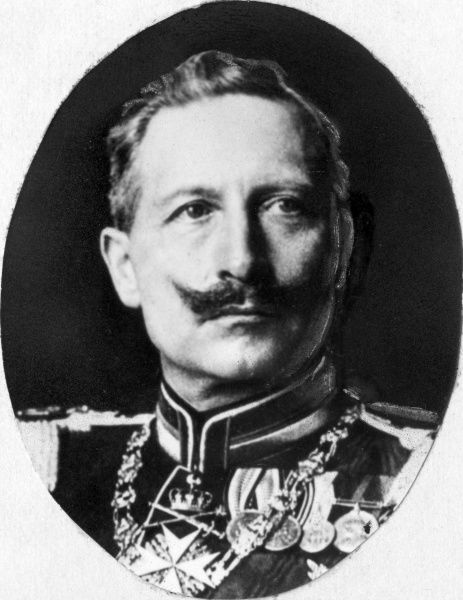 Kaiser Wilhelm II (1859-1941), the last Emperor of Germany and King of Prussia (1888-1918). Date: early 20th century