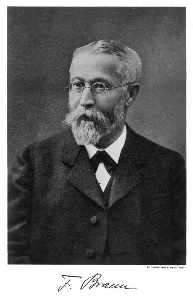 KARL FERDINAND BRAUN German physicist and winner of Nobel Prize in 1909