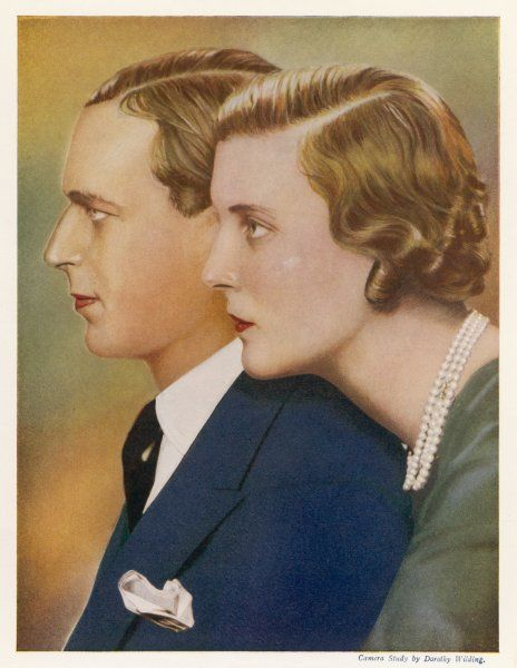 GEORGE, DUKE OF KENT Son of George V with his wife, Princess Marina of Greece (they married in 1934)