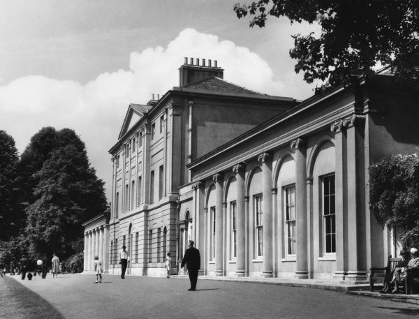Kenwood House, Highgate, London, a 17th century building, remodelled by Robert Adam between 1764 and 1779, and now home to the Iveagh Bequest of paintings