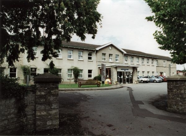 The main block of the Keynsham Union Workhouse, Somerset. The site later became Keynsham Hospital. Date: 2000