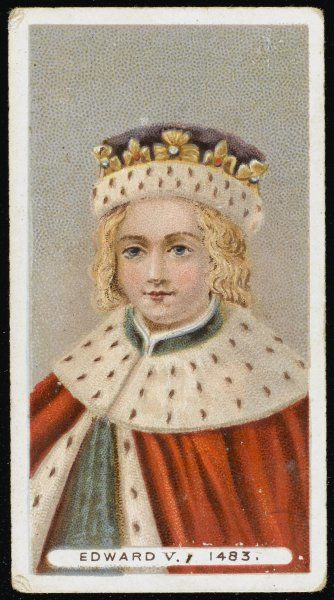 EDWARD V Son of Edward IV, he was the elder of the 'Princes in the Tower&#39