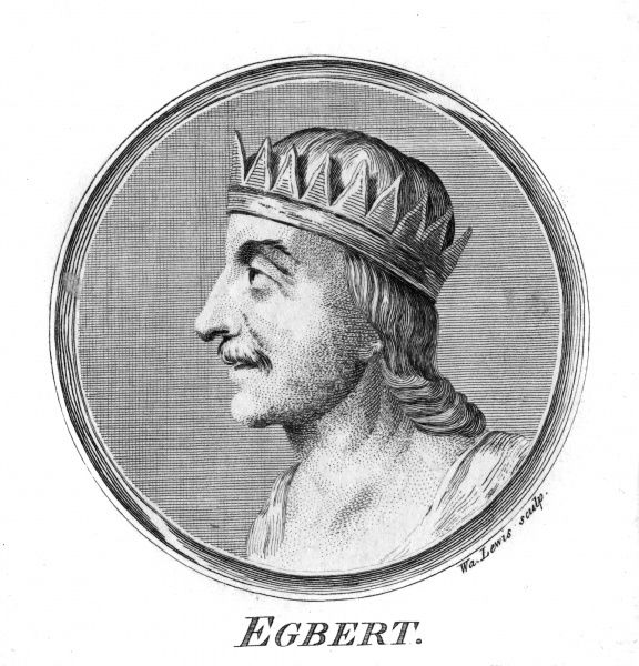 KING EGBERT King of the West Saxons (Wessex) (reigned 802-839) Date: 775 - 839