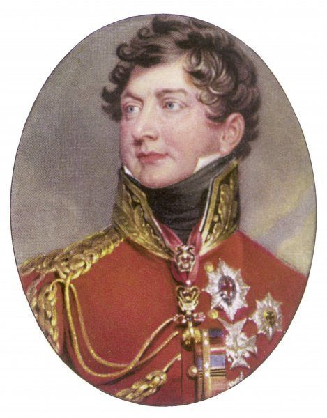 KING GEORGE IV OF ENGLAND (1762 - 1830) Reigned 1820 - 1830