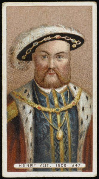 KING HENRY VIII Portrait of the king of England 1509-1547