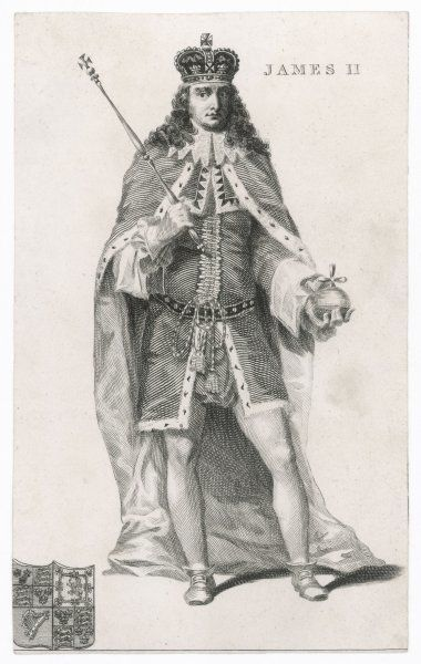JAMES II English King, reigned 1685-1688